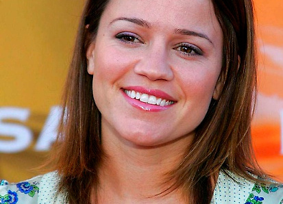 """. Actress Anna Belknap of \""""CSI: NY\"""" is 43. (Getty Images: Carlo Allegri)"""
