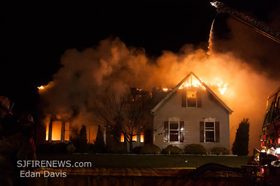12/23/2012, 2nd Alarm Dwelling, Woolwich, Gloucester County, Sherwood Dr.