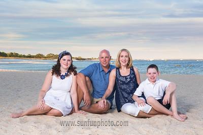 The Stout Family Sunset Photos on Panama City Beach