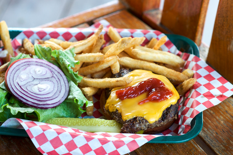 Cheeseburger & French Fries