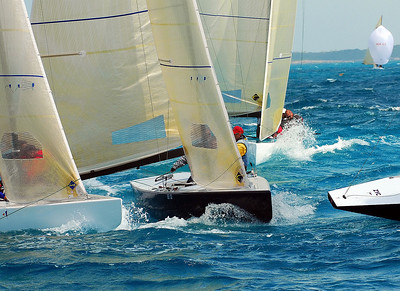 SAILING ACTION - MONTAGU BAY, NASSAU