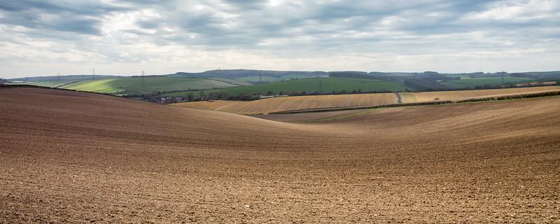 Rolling Dorset hills