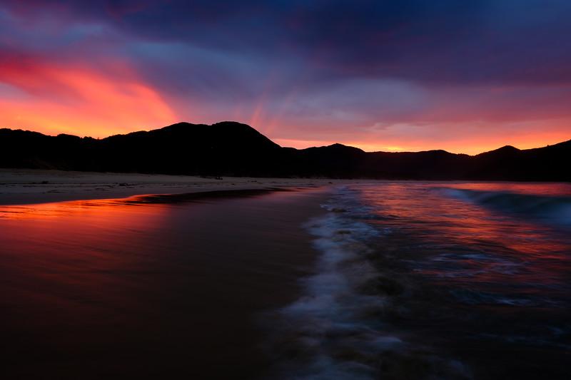Awaroa Bay, New Zealand 2017