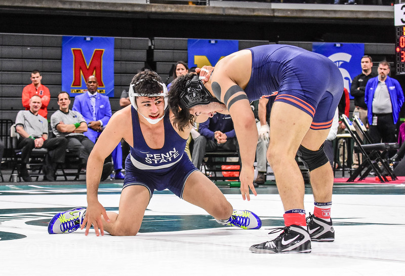 165: Isaiah Martinez (Illinois) dec. Vincenzo Joseph (Penn State), 4-1