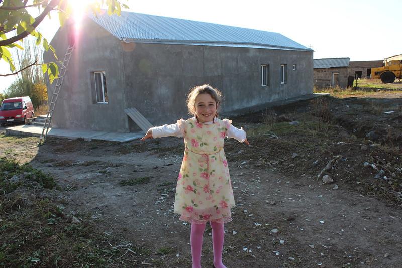 A homeowner partner child in Armenia.