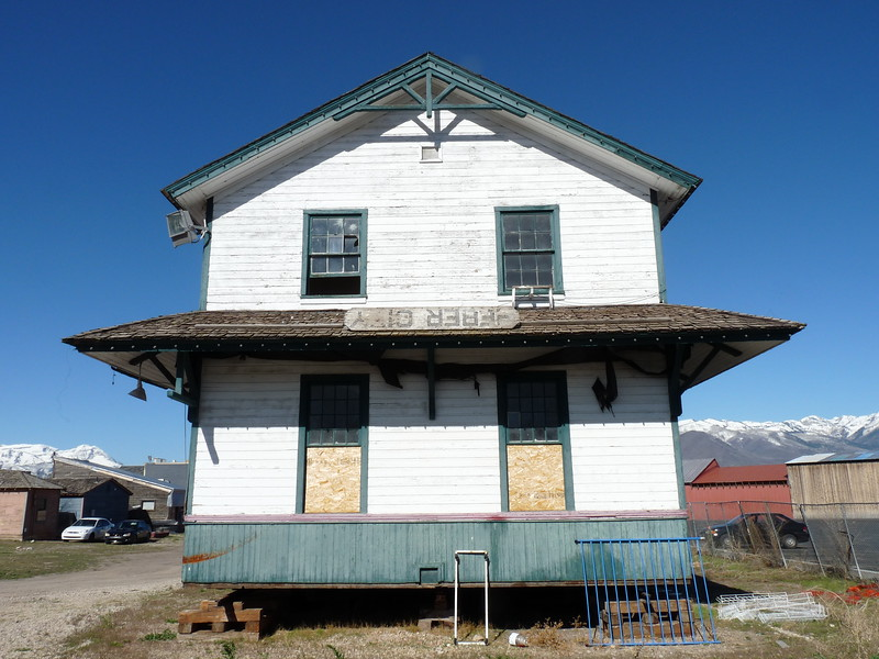 Former UP Honeyville depot, located on private property