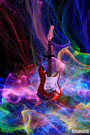 Light Painting Guitars