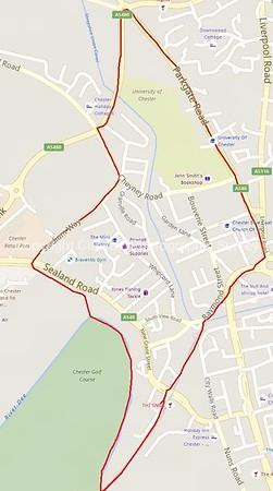Map of Garden Quarter