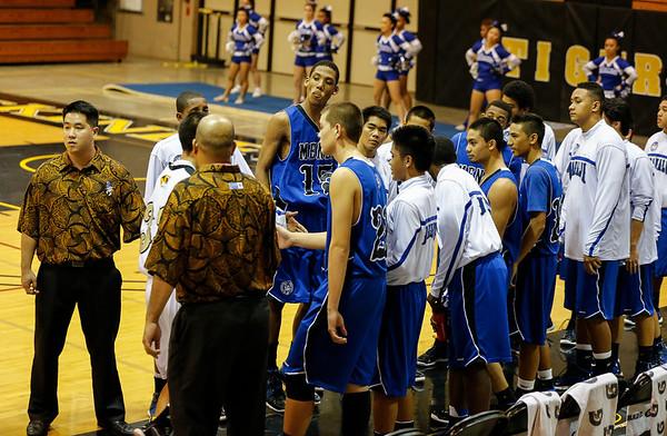 Moanalua vs McKinley 1/11/2013