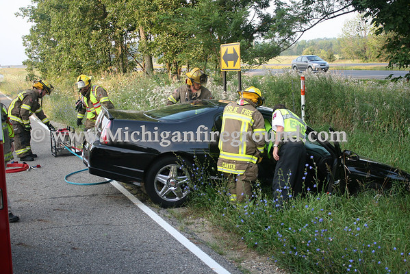 8/5/10 - Leslie extrication, Hull Rd & Ingalls Rd