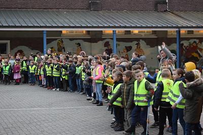 Bezoek van Sinterklaas en Zwarte Piet