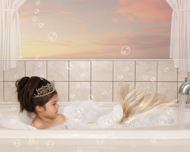 Bath Time Mermaid