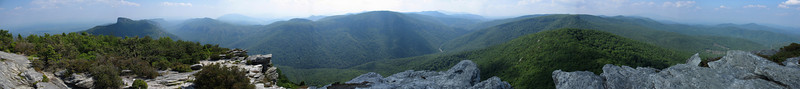 Hawksbill Mountain -- 4,020'