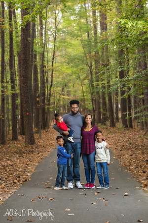 Mangum Family Photos 2016 :: William B. Umstead State Park :: AO&JO Photography