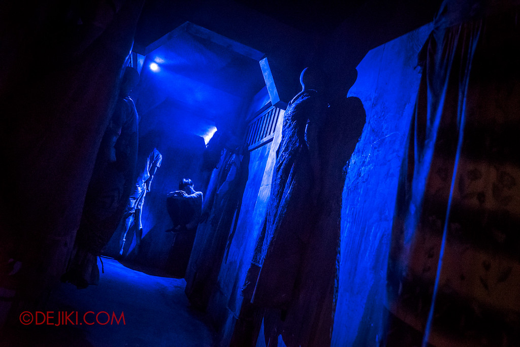 Halloween Horror Nights 6 Final Weekend - Old Changi Hospital revisited / Lurker Corridor