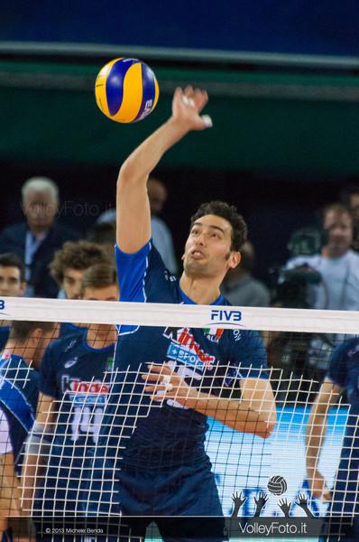 Emanuele Birarelli [ITA] - Italia-Iran, World League 2013 - Modena