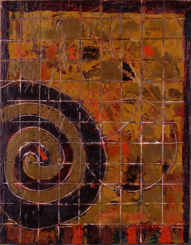 "2005 11""x 14"" encaustic on board (rr)"