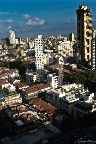 Mumbai Skyline, looking east