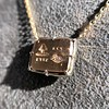 'For You I Live' 18kt Rose Gold Cast Rebus Pendant, by Seal & Scribe 24