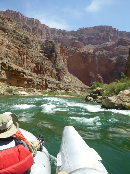 Rapids and great views - what's not to like!