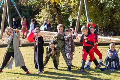 1st Grade Halloween Party