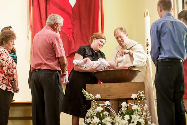 AJ Baptism