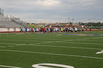 Pictures by Ed Davis - Pioneer Marching Band Camp (I think the first week of camp)