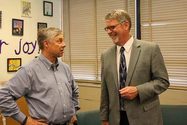 Congressman Fred Upton Visits KCHS - 5/13/14