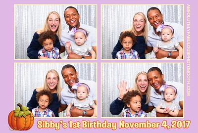 Sibby's 1st Birthday Party
