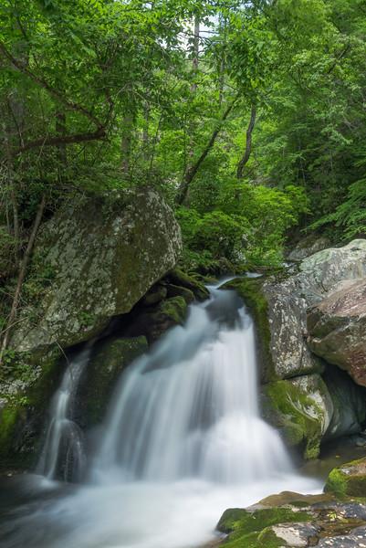 Lower Steels Creek Falls