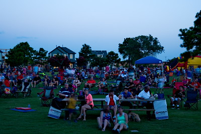 July 4th Concert in Festival Park