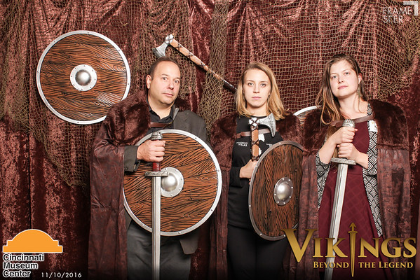 Cincinnati Museum Center: Vikings Exhibit VIP Opening