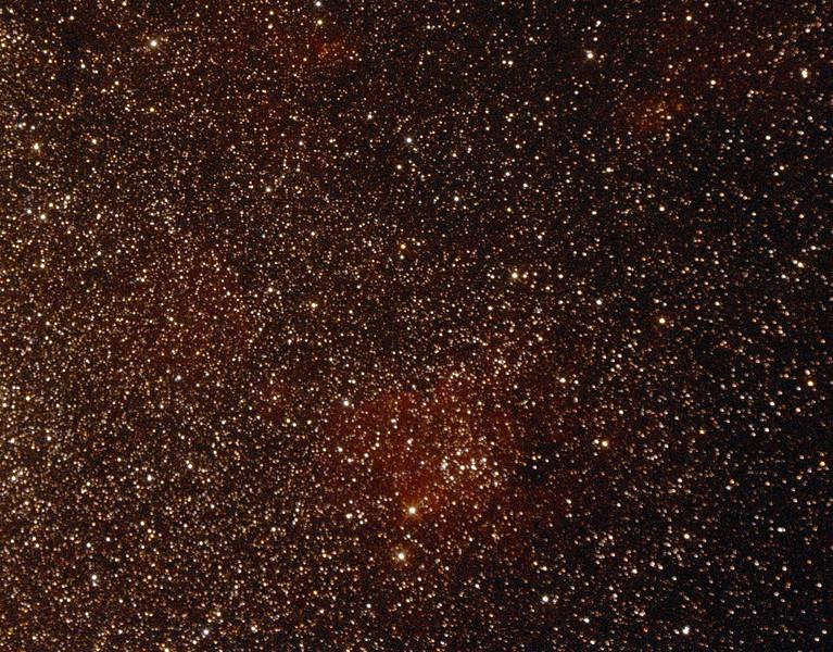 Gum70 - Nebula in Sagittarius - 23/9/2014 (Processed cropped single test image)