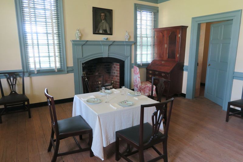 Moore House -- Front Parlor -- October 18, 1781