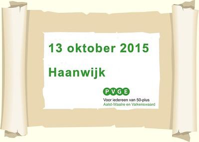 2015-1013 PVGE wandelen bij Haanwijk
