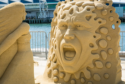 US Sand Sculpting Challenge 2016