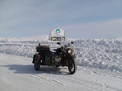 NWT border to end of mountains