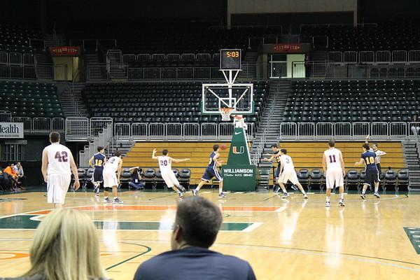 2013 JV Basketball Game vs Columbus