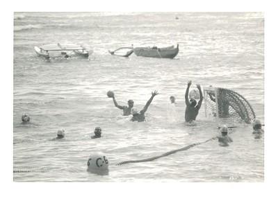 1987 Outrigger Invitational Open Ocean Water Polo Tournament 6-27-1987
