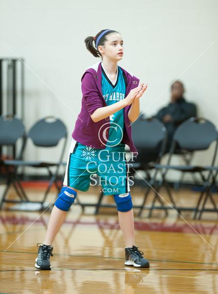 2011-01-27 Basketball 7A Girls HCYA @ SJS