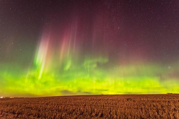 Auroras - Alberta and Saskatchewan