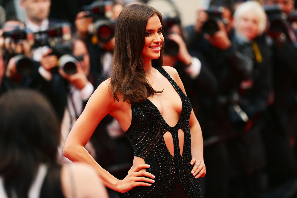 . Irina Shayk attends the \'All Is Lost\' Premiere during the 66th Annual Cannes Film Festival at Palais des Festivals on May 22, 2013 in Cannes, France.  (Photo by Vittorio Zunino Celotto/Getty Images)