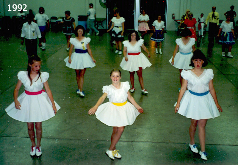 BHC dancers at the Jubilee 1992