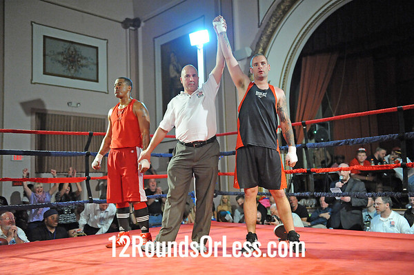 Bout #10 Keith Duncan, Against the Ropes(Mentor) vs Dewayne Cooperwood, EB Turner(Cleve) Heavy-Sub-Novice