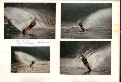 8-26-1989 Water Skiing @ Deep Creek Lake w/Al Nishi
