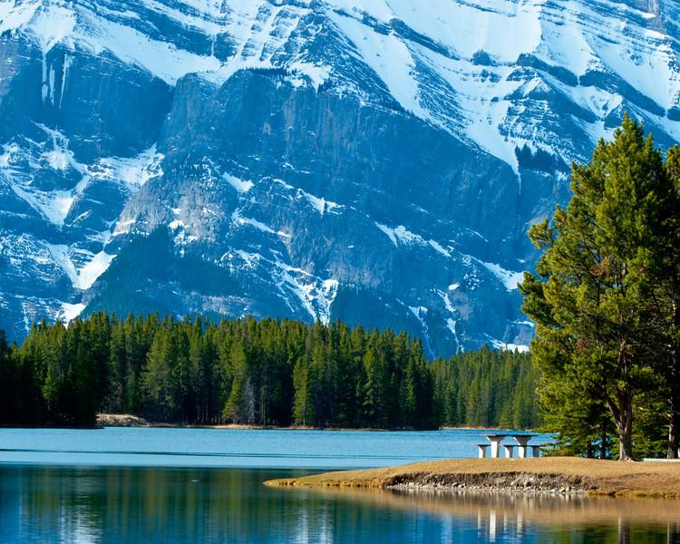 Lake Moraine - Canadian Rockies