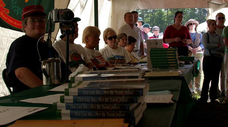 Authors Tent