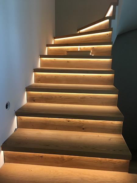Osvetlenie schodiska