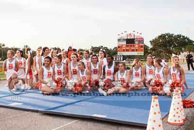 Varsity Cheerleading - 2012