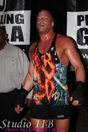 PWG 20100130 - Chris Hero vs Roderick Strong vs RVD